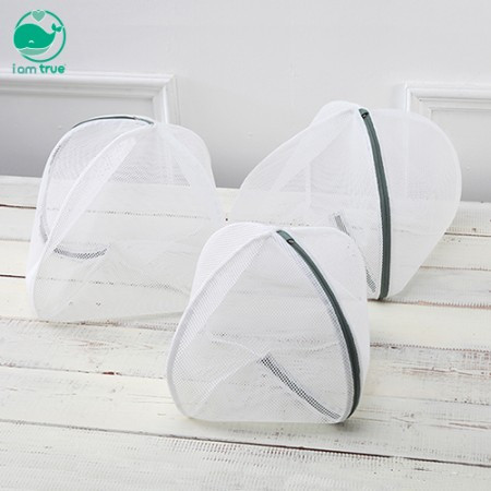 3 round laundry nets <br/> (small, medium, large)